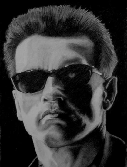 Arnold Schwarzenegger par marcusfearnley